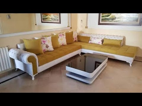 decoration mod les canap salon marocain et fauteuil 2017 youtube. Black Bedroom Furniture Sets. Home Design Ideas