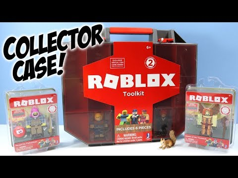 ROBLOX Series 2 Toolkit Figure Carry Case with Core Packs Review