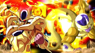 ULTIMATE GOLDEN BROTHER TEAMUP! Full Power Golden Cooler & Frieza vs SBR: DBZ Dokkan Battle