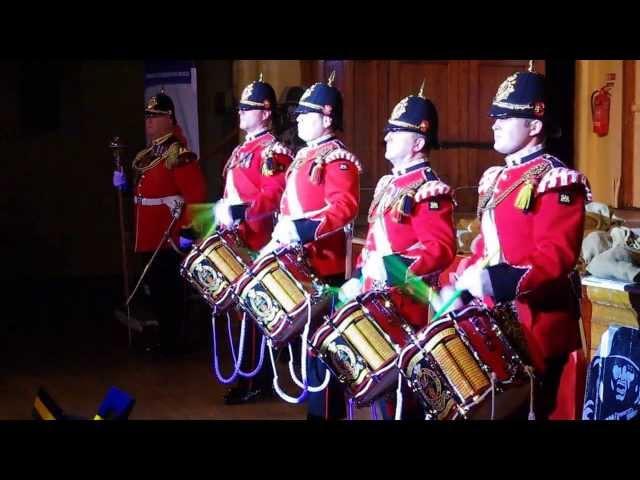 Princess of Wales Royal Regiment Drum Corps.