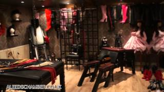A dungeon tour ... BDSM Paradise !