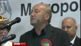 George Galloway Wins Bradford West By-Election