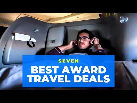 7 BEST Award TRAVEL DEALS – 2019