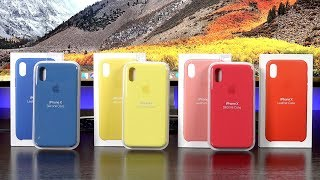 Apple iPhone Cases: New Colors (Spring 2018)