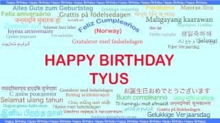 Tyus   Languages Idiomas - Happy Birthday