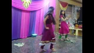 Kajara Mohabbat Wala from tanu weds manu Duet Dance Performed by Anushka Bhargava & Aashima Bhargava
