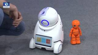 Enthusiasts Throng China Beijing Int'l Hi-Tech Expo As Robots Are Put On Display |Tech Trends|