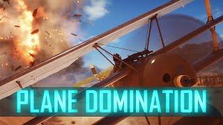 ATTACK PLANE - Plane Domination#13 ► Battlefield 1 Plane Tips & Live Comms