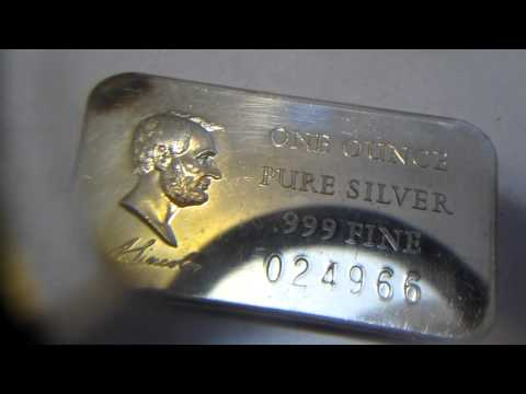 SilverPicker's Trip to the Refinery. Scrap Silver and Gold Turned into Bullion