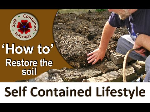 How to restore the soil