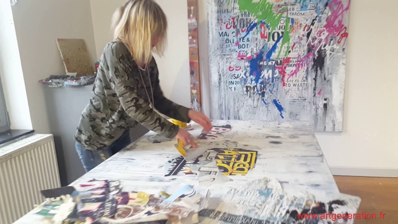 Patricia Gadisseur Artiste Peintre Street Art Women Youtube