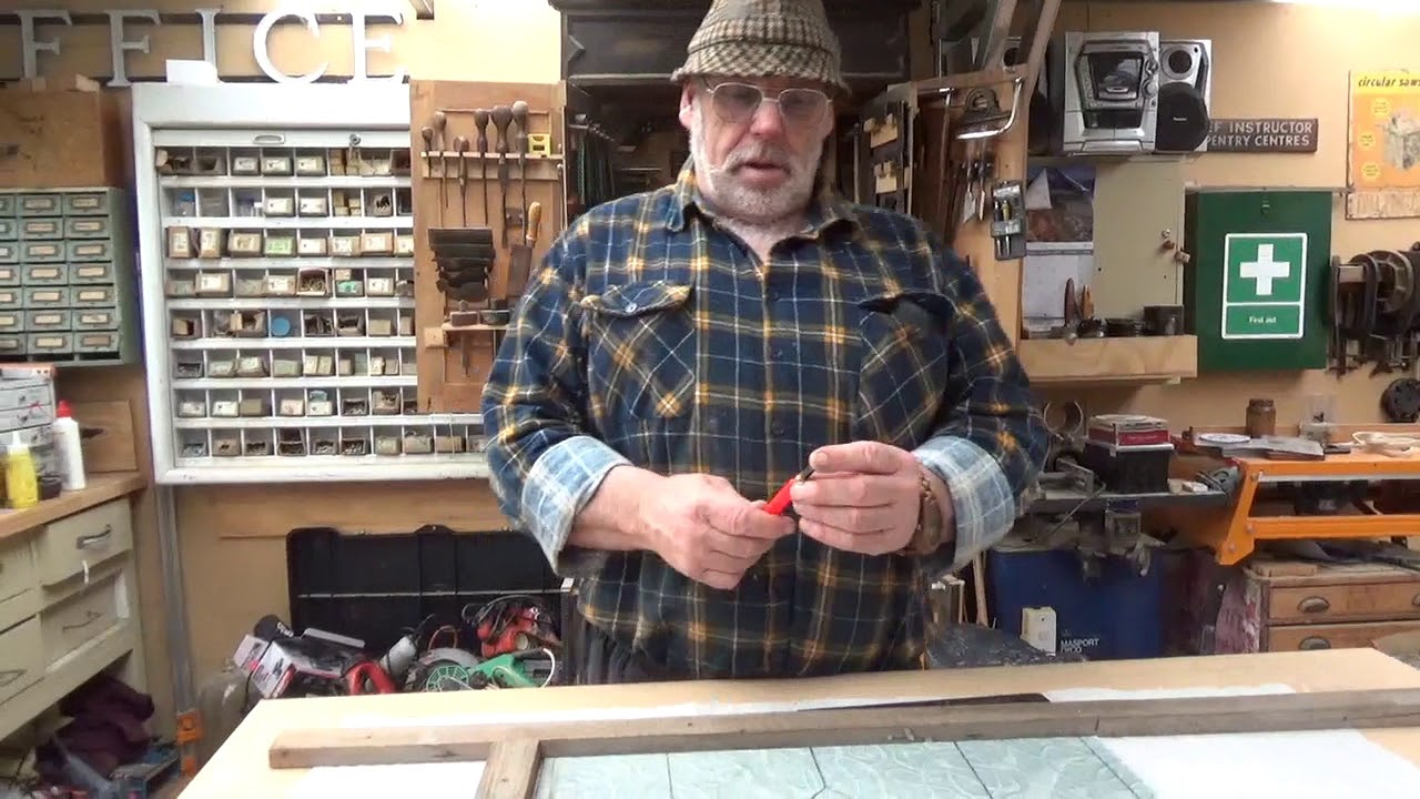 Making a Lead Light Window Start to End the whole process