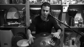 Live looping with HANDPAN | Artem Uzunov | Alone