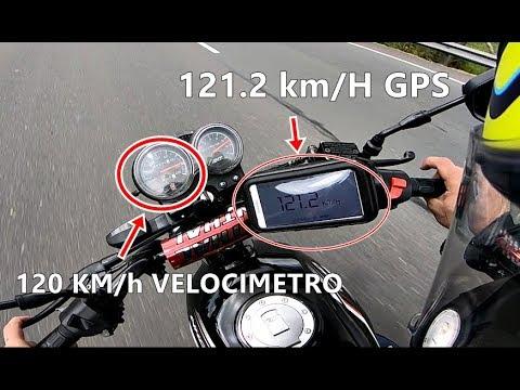 AKT NKD 125 MAXIMA VELOCIDAD CON GPS TOP SPEED  DESMINTIENDO VELOCIMETRO  A TOPE