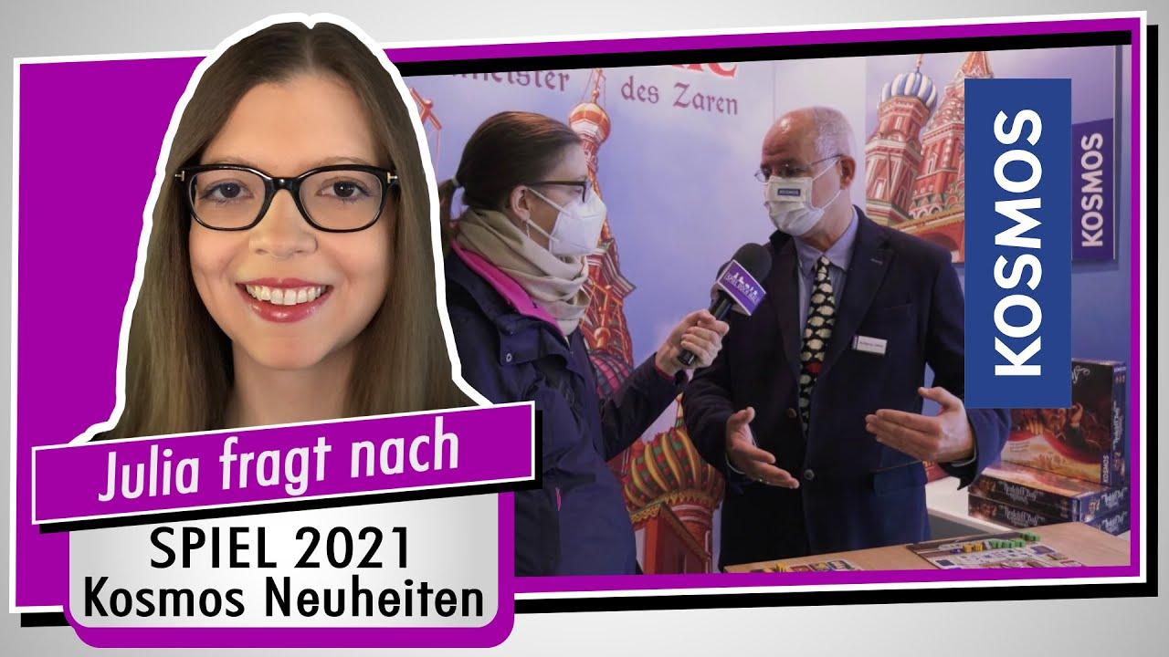 SPIEL 21 - Kosmos auf der Neuheitenschau - Redakteur Wolfgang Lüdtke im Interview - Spiel doch mal!