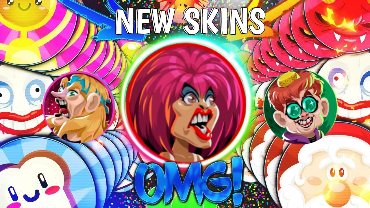 Agario Legendary Boss Team Mode Agar.io Solo Mobile Gameplay (New Skin Arcade Skins & Libra Skin