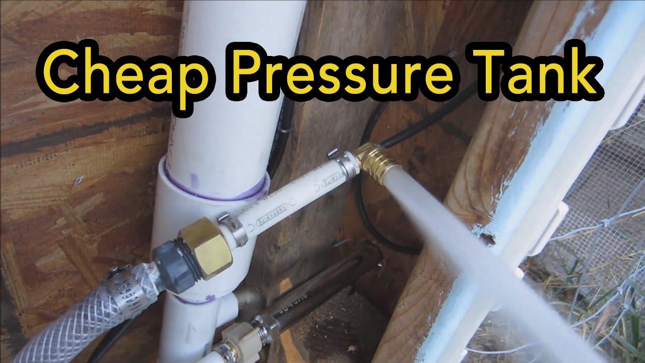 Chicken Coop Automation Part 3 Cheap Diy Pressure Tank