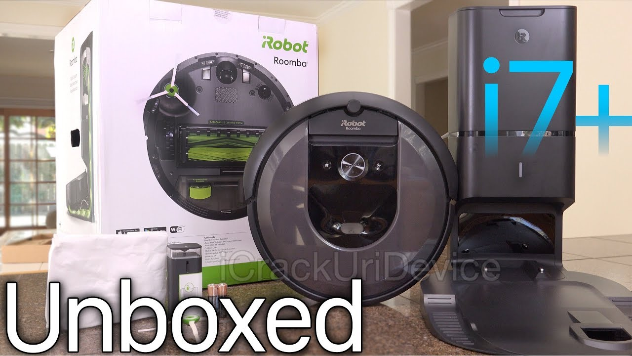 Roomba I7 Self Emptying Vacuum Irobot Review And Unboxing Setup Youtube
