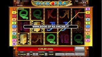 Book Of Ra Con Soldi Veri (Casinò Online)