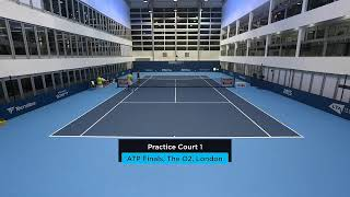 2019 Nitto ATP Finals: Live Stream Practice Court 1 (Wednesday)