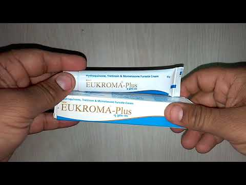 New Eukroma Plus Cream न्यू यूक्रोमा प्लस क्रीम uses composition side effect precaution how to use