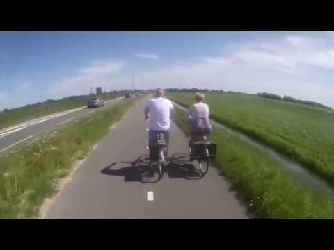 Crossing Amsterdam Rhine Canal
