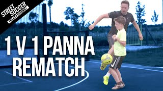 Rematch! Epic 1v1 Skills & Panna Game Challenge! STR vs Leo