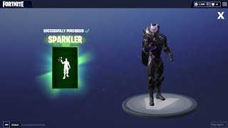 *New* Fortnite 4th of July skins and sparkler emote!!