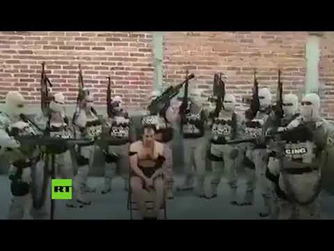 Cartel issues video of captive, warns it will 'clean up' Valle de