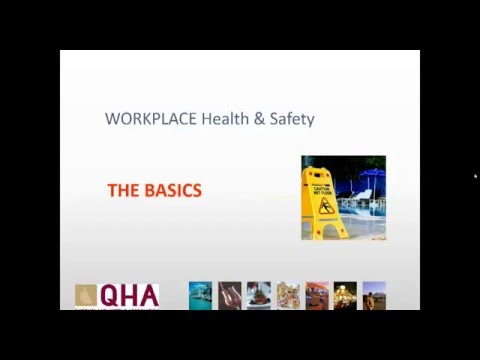 Workplace Health and Safety for Queensland Hotels - The Basics