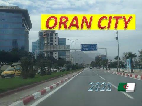Algeria 2021 .. a car tour 4k  of the beautiful city of Oran