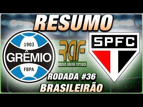 Grêmio 3 x 0 São Paulo l Campeonato Brasileiro