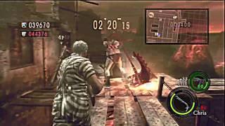 Resident Evil 5 HD Versus Team Survivors Prison Online With lumlee + GL Spammers
