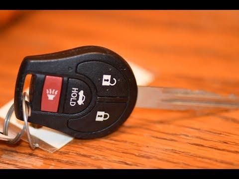 DIY – Nissan Key Fob Battery Change / Replacement Altima / Versa / Senta