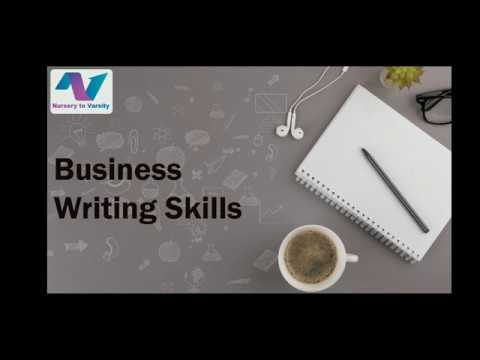 Business writing | drafting | re-drafting | tutorial | free online course