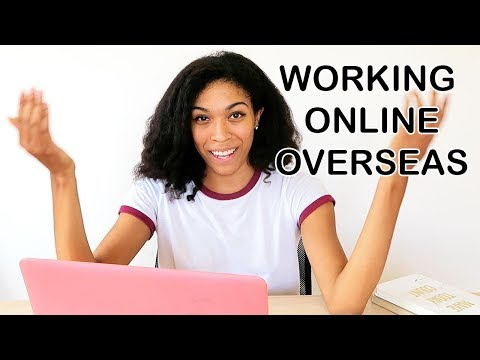 ONLINE JOBS AND WORK SCHEDULE - LIVING ABROAD IN CHIANG MAI, THAILAND