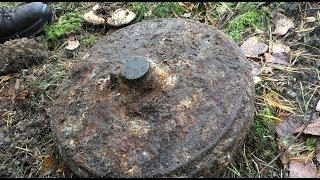 Found a WW2 anti-tank mine, it went BOOM!