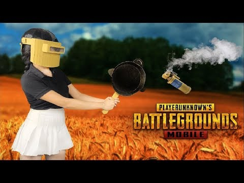 How to make Cardboard Helmet 3 and Smoke Grenade in PUBG Mobile - 3 DIY Funny Toys and Life Hack