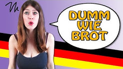50 CRAZY Ways to CALL SOMEBODY STUPID in German