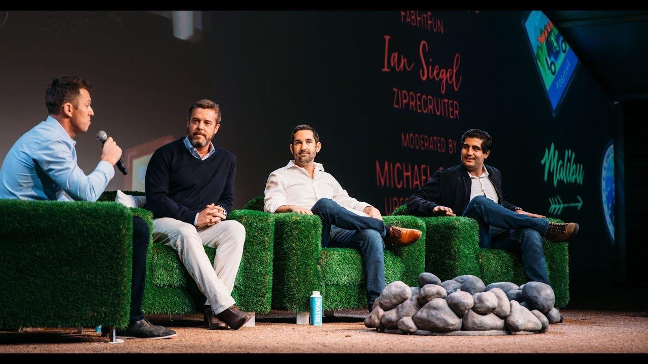 Scott Painter, Ian Siegel & Daniel Broukhim with Michael Carney | Upfront  Summit 2019