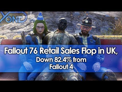 Fallout 76 Retail Sales Flop in UK, Down 82.4% From Fallout 4