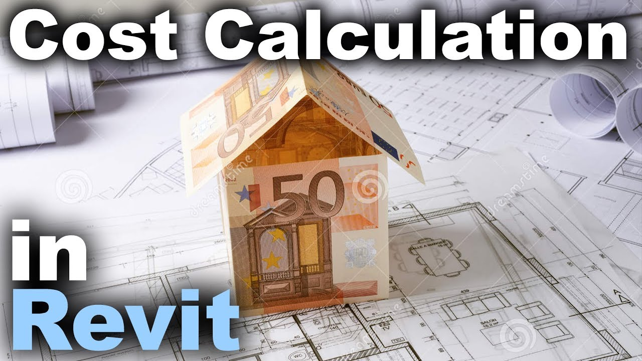 Cost Calculation in Revit with Material Takeoff