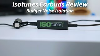 ISOtunes Bluetooth Earbuds Review - Best Budget Noise Isolation?