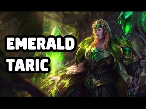 EMERALD TARIC SKIN SPOTLIGHT - LEAGUE OF LEGENDS