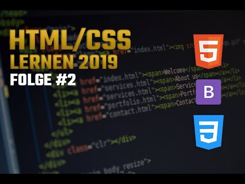 Webseite mit HTML/CSS - Bootstrap lernen #2 (Gaming Webseite 2019) • [German] [HD] thumbnail