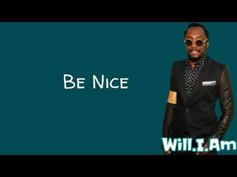 Black Eyed Peas - Be Nice (Lyrics) feat. Snoop Dogg