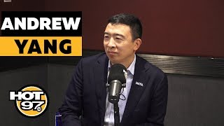 Andrew Yang On $1,000 A Month Plan, Tulsi Gabbard, Trump's Impeachment & College Loan Forgiveness
