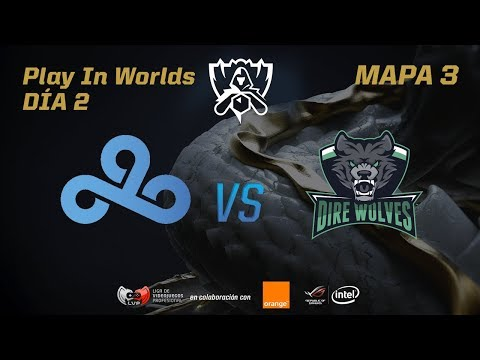 CLOUD 9 VS DIRE WOLVES - LOL WORLDS 2017 - DÍA 2 - PLAY IN