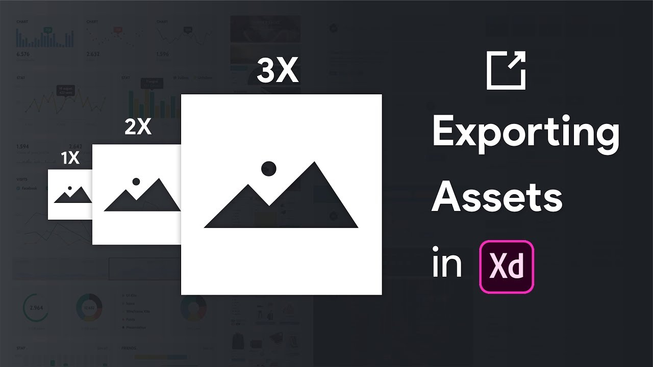 HOW TO EXPORT DESIGN ASSETS IN ADOBE XD