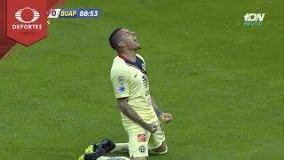 Doblete de Nicolás Castillo | América 3 - 0 Lobos BUAP | Clausura 2019 - J 8 | Televisa Deportes